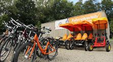 Fahhrad und GoCart Verleihstationen rund um Boltenhagen an der Ostsee