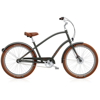 Electra Bicycle Townie Balloon 3i ( Army Grey ) Men