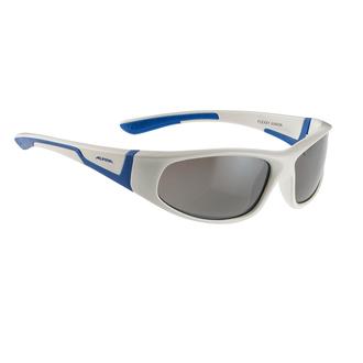 Alpina Kindersonnenbrille Flexxy Junior (6 bis 9 Jahre) mit flexiblem Rahmen green-blue JTVA6