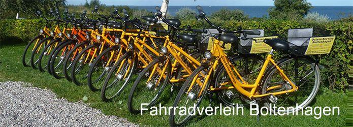 Fahrradverleihstationen Boltenhagen